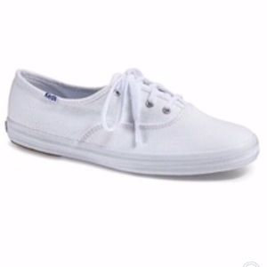 NIB $45 KEDS Original Canvas Sneaker - White 9